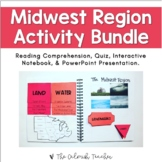 Regions of the United States: Midwest Region Activity Bundle