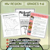 Regions of the United States - Midwest Region Packet