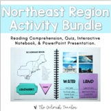 Regions of the United States: Northeast Region Activity Bundle