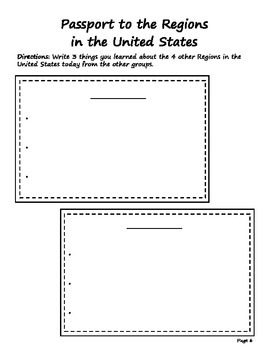 Regions of the United States Packet