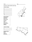 Regions of the United States Quiz