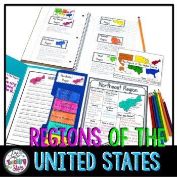 Regions of the United States Flip Book