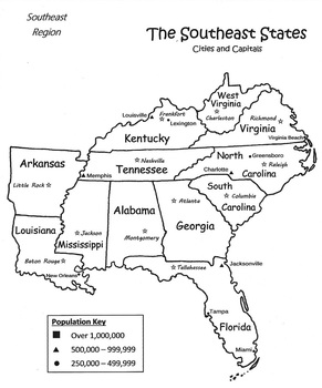 Regions of the United States Resource Packet