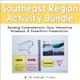 Regions of the United States: Southeast Region Activity Bundle