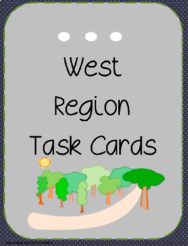 Regions of the United States Task Cards BUNDLE