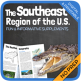 Regions of the United States: The Southeast Region