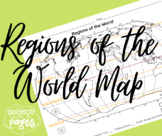 Regions of the World Map