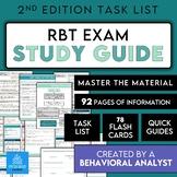 Registered Behavior Technician RBT Complete Study Kit, Stu