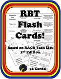 Registered Behavior Technician (RBT) Study Cards {56 cards}