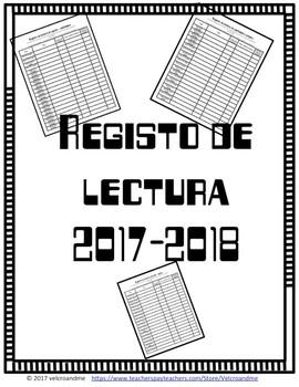 Registro de Lectura 2017-2018
