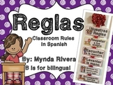 Reglas (Classroom Rules in Spanish)