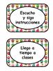 Reglas Del Salón Cupcakes