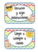 Reglas Del Salón Emojis II