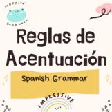 Reglas de Acentuación / Spanish Grammar