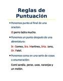 Reglas de Puntuacion en espanol