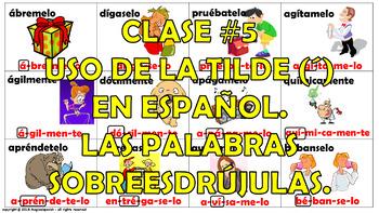 Reglas de acentuación en español (5) / How to mark the gra
