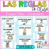 Classroom Rules in Spanish | Reglas de Clase | Frases Útiles en Español