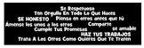 Reglas de la Clase de Espanol