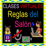 Reglas del Salón Clases Virtuales Educación a Distancia