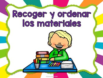 Reglas del Salón - Educlip kids multicolor