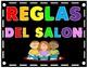 Reglas del Salon usando el acrostico LIDER