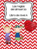 Reglas del almuerzo - Reader in Spanish Only