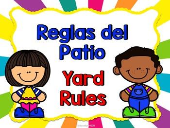 Reglas del patio (Bilingual)