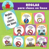 Reglas para clases en línea!!! en Español!!!