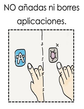 Reglas para usar los ipads