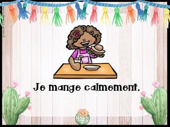 Règle de la classe - Classroom Rules in French