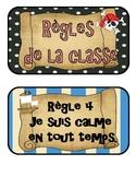 Règlements de la classe - Thématique Pirates