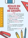 Règles du Travail de Groupe