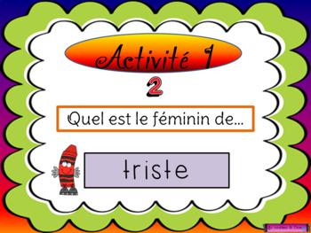 Règles du féminin