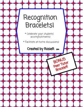 Recognition Bracelets