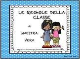 Regole della classe - Classroom rules - Italian