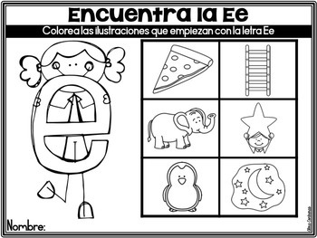 Regreso a Clases {Back to School Print and Go Centers in Spanish}