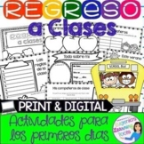 Regreso a clases - Back to school Spanish product