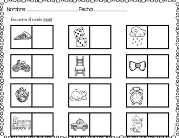 Regreso a clases- MATCHING AND SORTING {SPANISH}