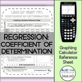 Regression: Linear, Quadratic, and Exponential and Coeffic