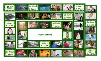 Regret Modals Legal Size Photo Board Game