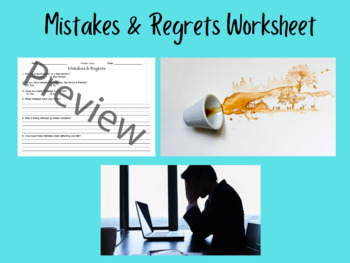 Regret Worksheet