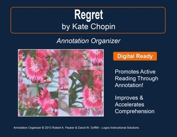 """Regret"" by Kate Chopin: Annotation Organizer"
