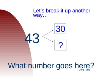 "Regrouping 2-Digits with ""Funny Numbers"""