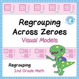 Regrouping Across Zeros - Task Card Visual Models