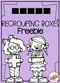 Regrouping Boxes (Addition or Subtraction) FREEBIE