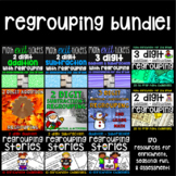 Regrouping Bundle - 170 Addition and Subtraction Resources for 2nd Grade