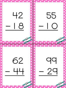 Regrouping: Double-Digit Subtraction 3 activities