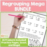 Addition and Subtraction 2 Digit and 3 Digit Regrouping MEGA Bundle!