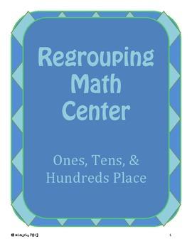 Regrouping Math Center - Making Bundles of 10