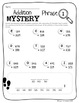 Regrouping Math Mystery Phrases (3-Digit)